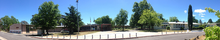 front of school2